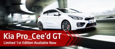 Kia Pro Ceed GT Limited 1st Edition Now Available