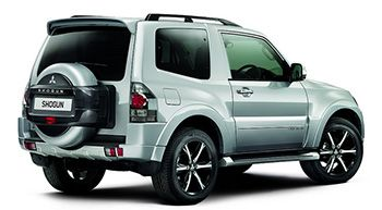 The All-New Mitsubishi Shogun