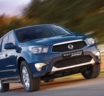 The SsangYong Commercial Range