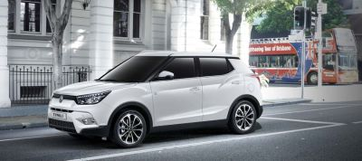 SsangYong Upgrades Tivoli to Beat Rival SUVs