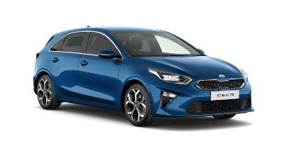 kia ceed - Available in Blue Flame