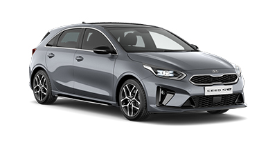 kia ceed - Available in Lunar Silver