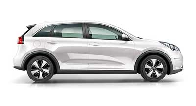 Kia Niro - Available In Clear White