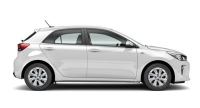 Kia Rio - Available In Clear White