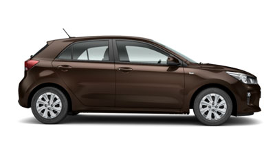 Kia Rio - Available In Sienna Brown
