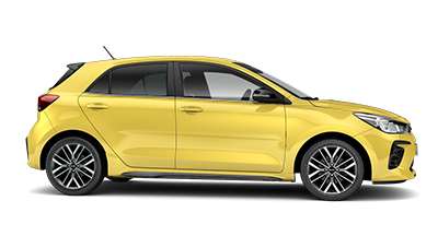 Kia Rio - Available In Zest Yellow