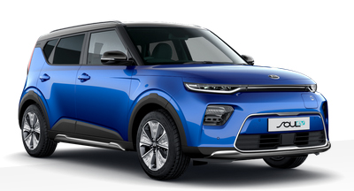 Kia Soul Ev - Available In Neptune Blue With Black Roof