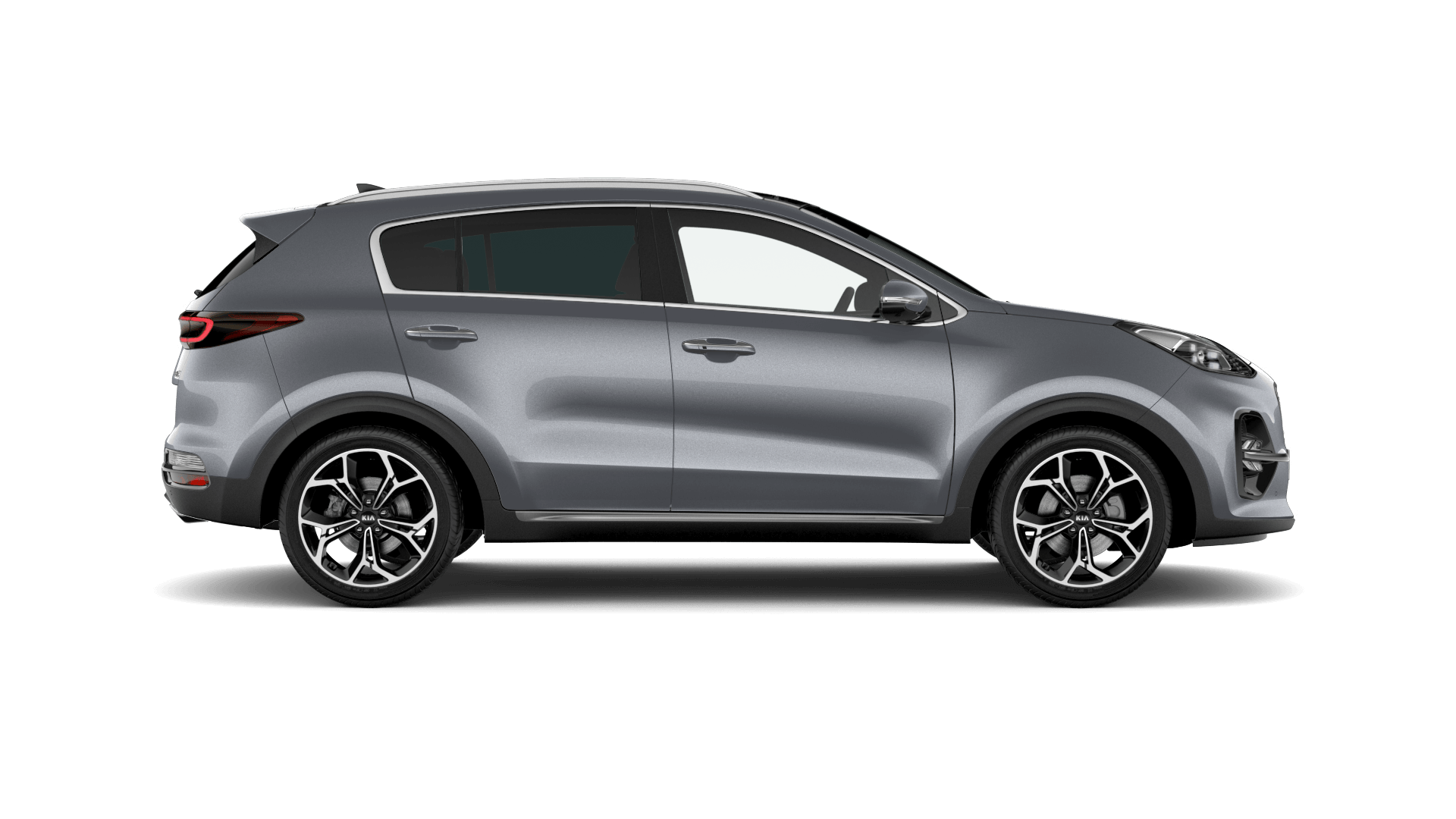 Kia Sportage - Available In Lunar Silver