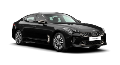 Kia Stinger - Available In Midnight Black