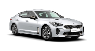 Kia Stinger - Available In Pearl White