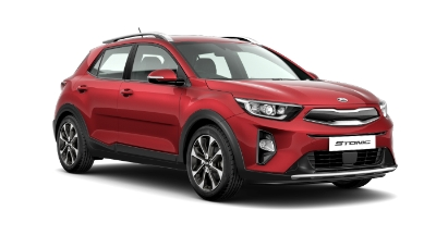 Kia Stonic - Available In Blaze Red