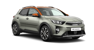 Kia Stonic - Available In Urban Grey With Orange Roof