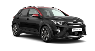 Kia Stonic - Available In Midnight Black With Red Roof