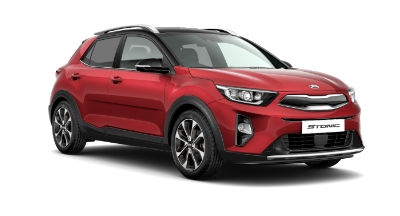 Kia Stonic - Available In Blaze Red With Black Roof