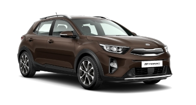 Kia Stonic - Available In Sienna Brown