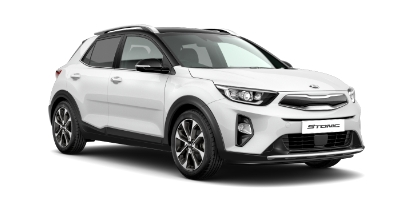 Kia Stonic - Available In Clear White With Black Roof