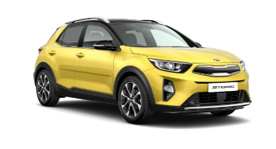 Kia Stonic - Available In Zest Yellow With Black Roof