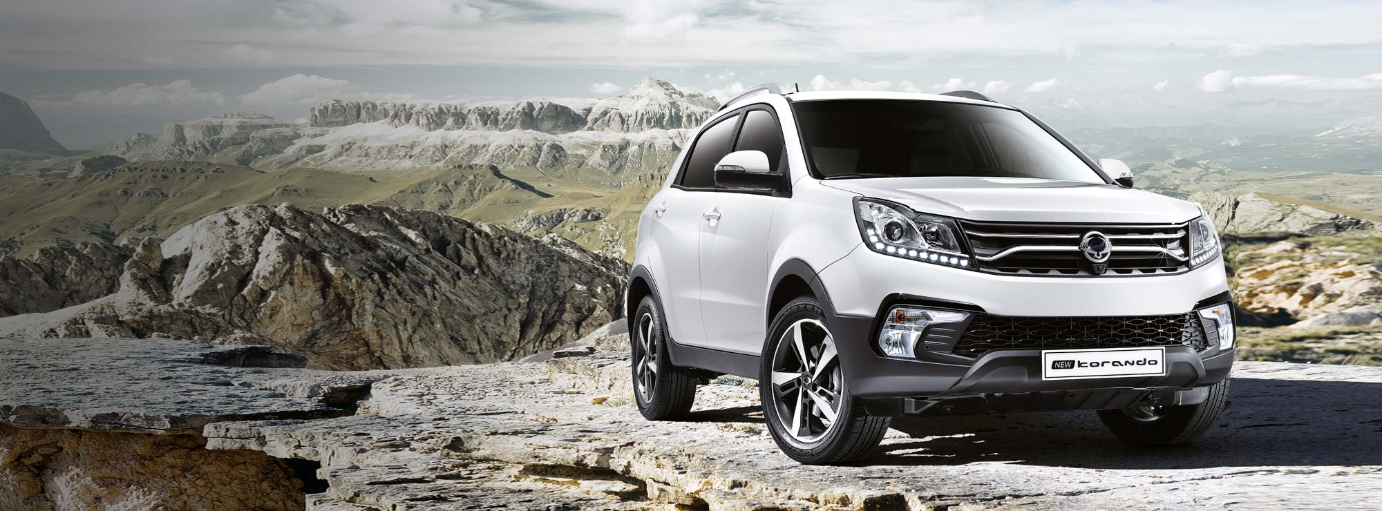 <strong>Korando From £16,995</strong>